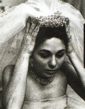 Empress Farah wedding Noor-ol-Ain tiara