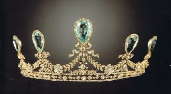 hesse aquamarine tiara