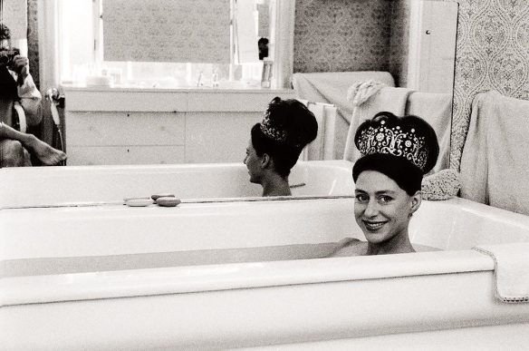 Princess Margaret wears Poltimore Tiara in the Bath
