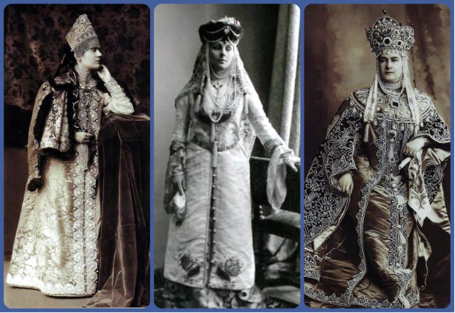 1903 Ball Costumes collage 2