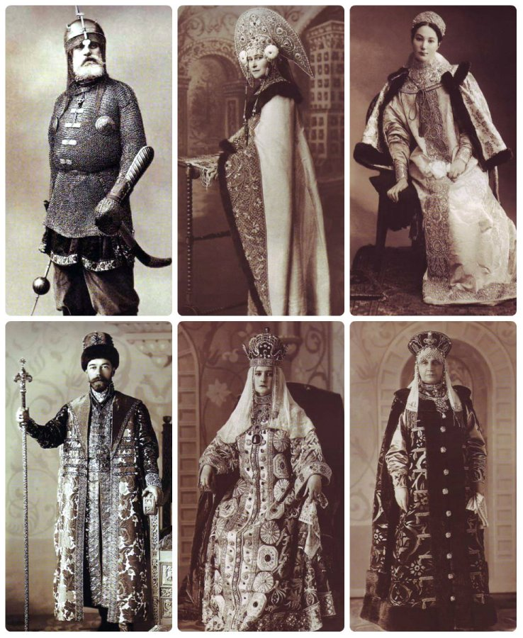 1903 Winter Ball Costumes