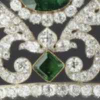tiara time: Marie Thérèse's Emerald and Diamond Tiara