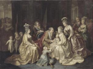 famiglia birth of Louis Joseph