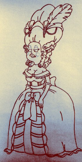 american dad francine smith as marie antoinette
