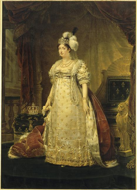 Gros 1819 duchesse angouleme in her favorite tiara