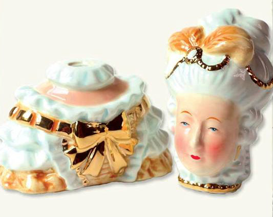 marie antoinette salt and pepper shakers