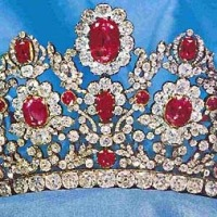 tiara time: Marie Thérèse's Ruby & Diamond Parure