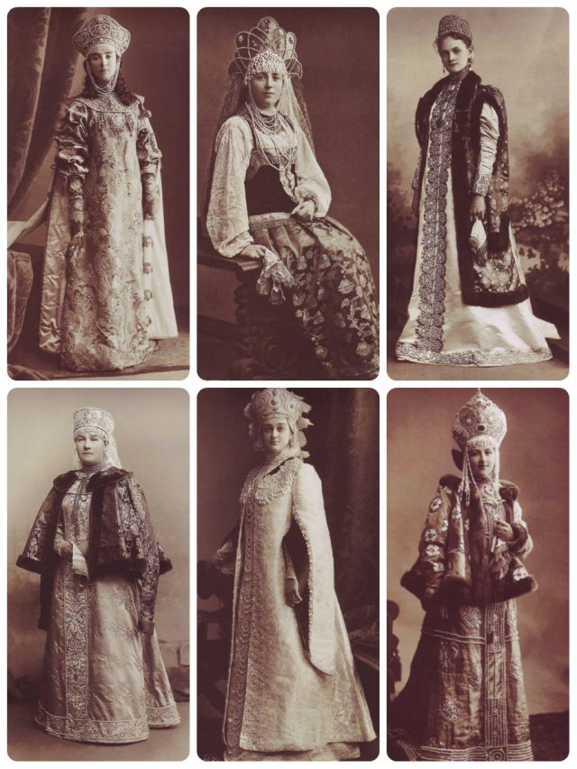 more 1903 Winter Ball Costumes