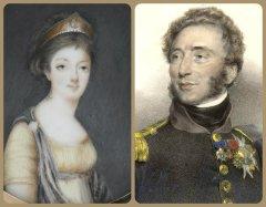 the duc et duchesse d'Angouleme