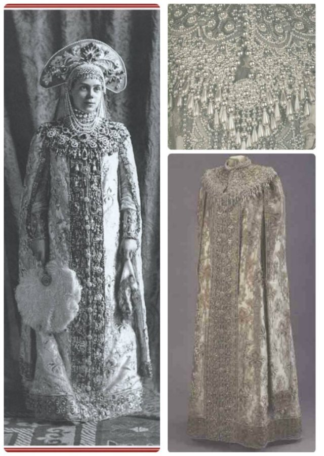 1903 Ball grand duchess xena, costume detail