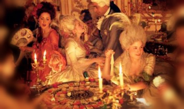 marie antoinette movie birthday scene Louis goes to bed