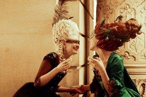 marieantoinette and the duchesse de Polignac