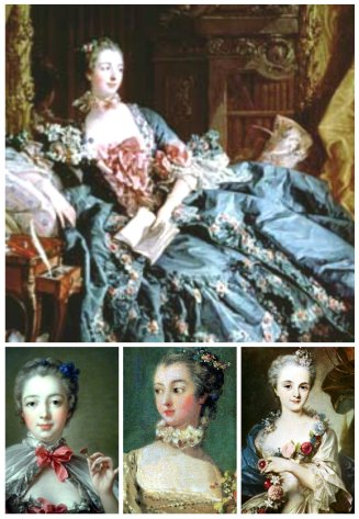 marquise de pompadour collage