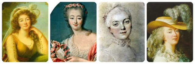 madame comtesse du Barry collage