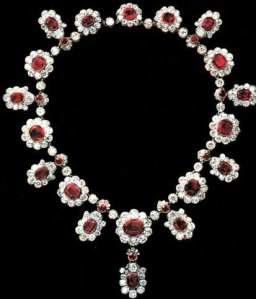 ruby and diamond necklace from French Crown Jewels