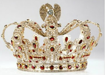 ruby and diamond ninot crown replica
