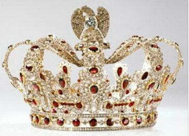 ruby and diamond ninot crown replica