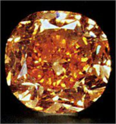 Orange Diamond Sets Two World Records With Only One Bang