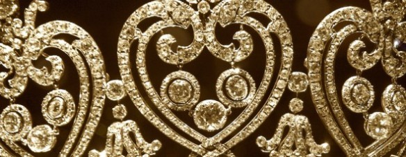 manchester tiara heart closeup