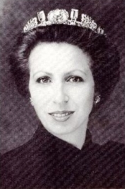 princess anne in pine flower tiara