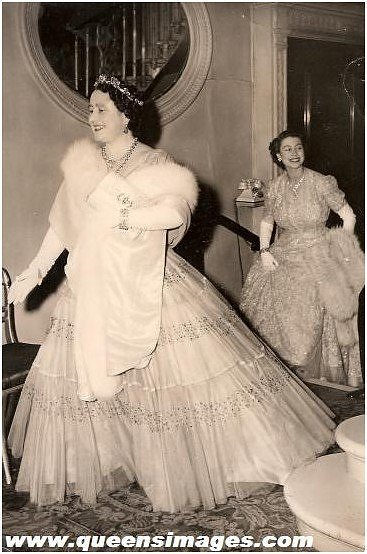 queen elizabeth in the pine flower tiara