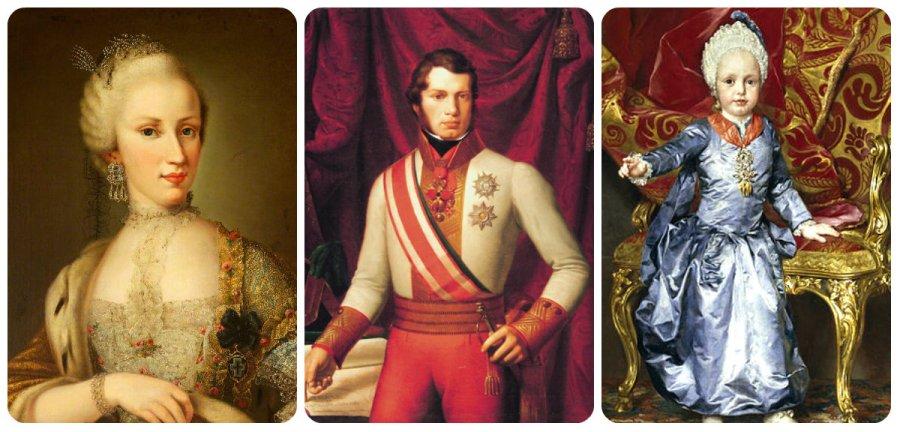 maria luisa, leopold II and Francis II