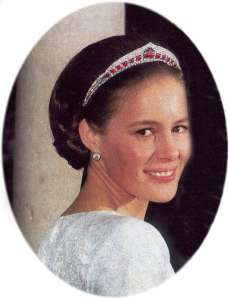 Beatriz Moreno de Borbon in the Laula Tiara