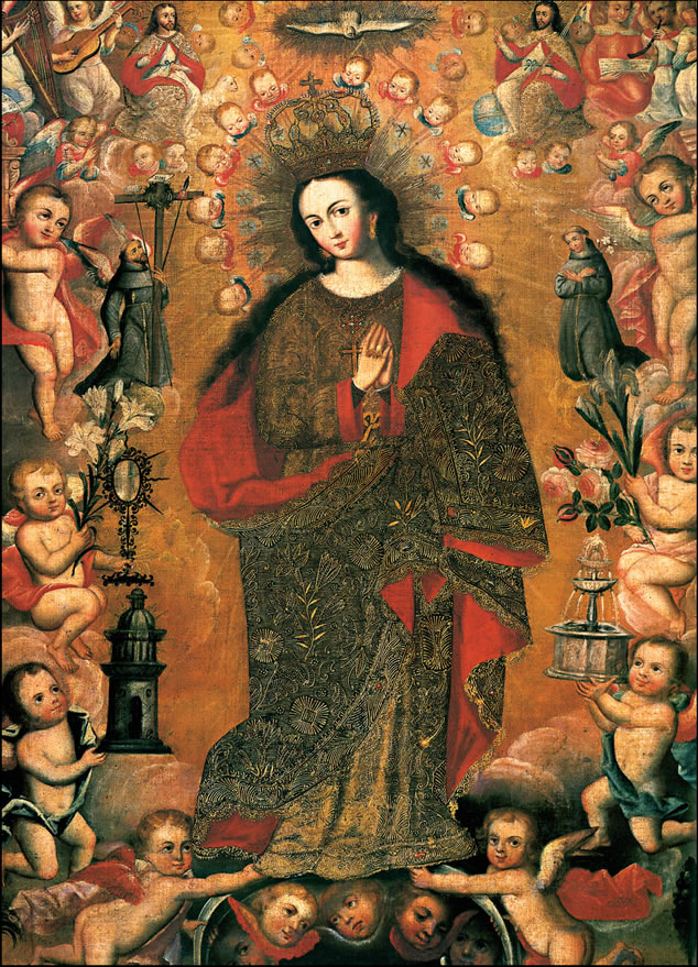 Our Lady of the Ascuncion Lady of the Immaculate Conception