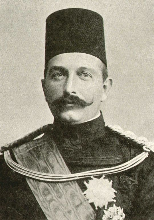 Khedive Abbas II of Egypt