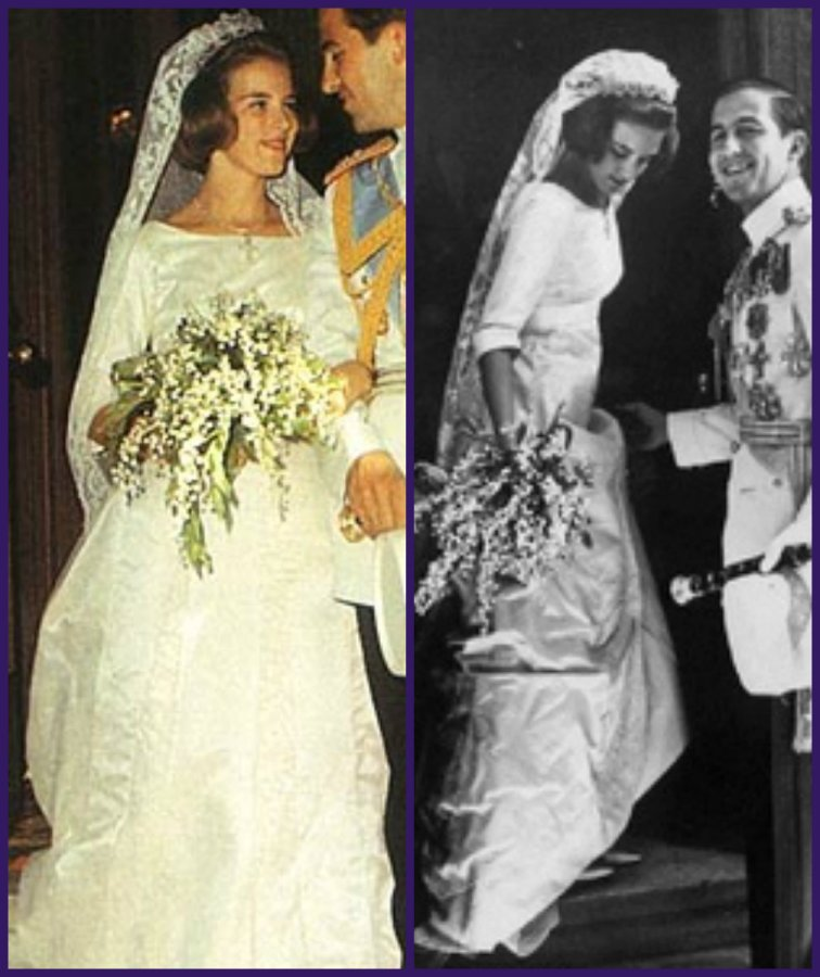 anne marie and constantine of greece wedding