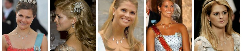 connaught diamond tiara necklace earrings