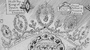 connaught tiara sketch