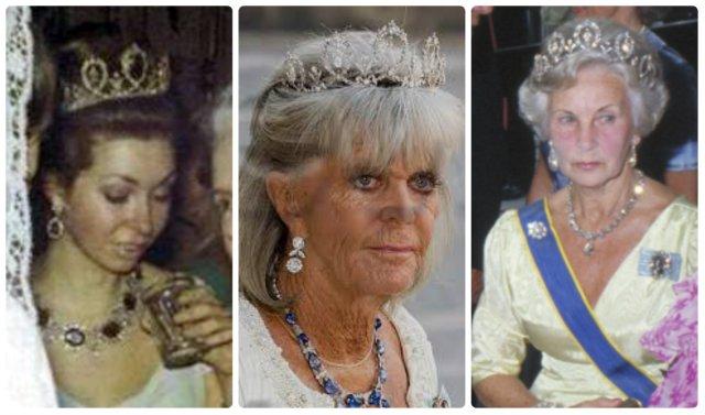 princesses chrisina, désirée and lilian connaught tiara
