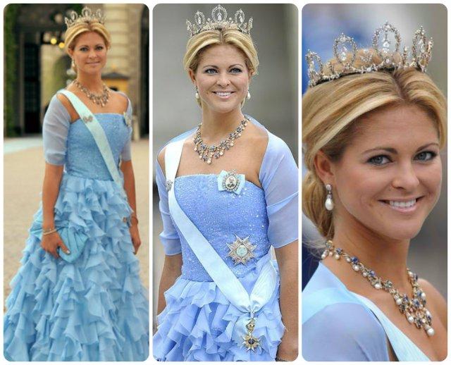 princess madeliene at swedish royal wedding 2010