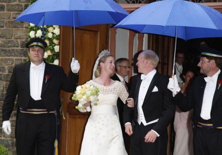 Princess Nathalie zu Sayn Wittgenstein Berleburg Wedding