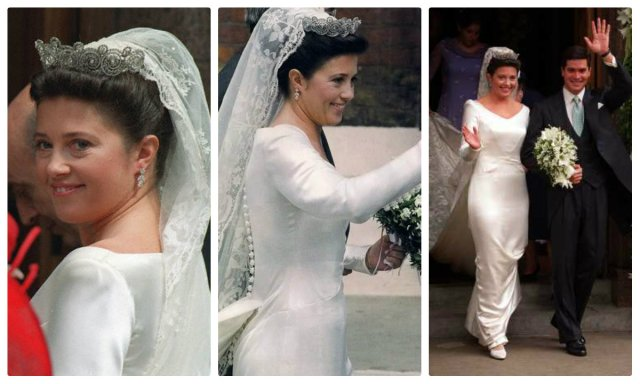 Princess Alexia of Greece wedding khedive tiara