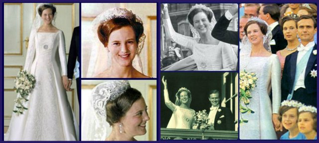 Queen Margrethe of Denmark wedding