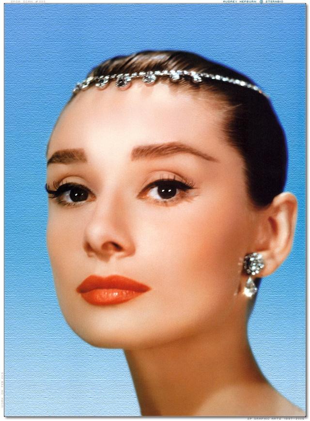 audrey hepburn bandeau tiara