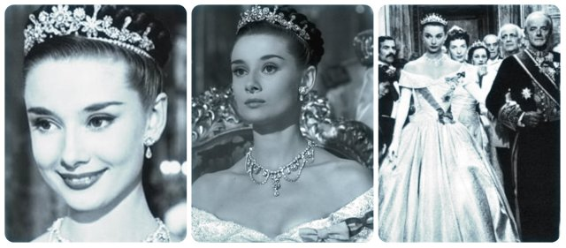 Audrey Hepburn Roman Holiday Tiaras And Trianon