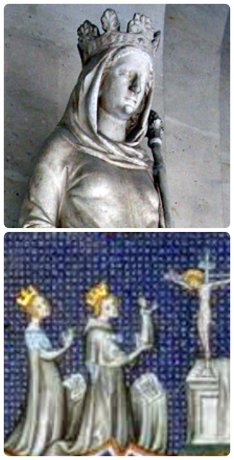 constance of castile, louis vii and adèle of champagne