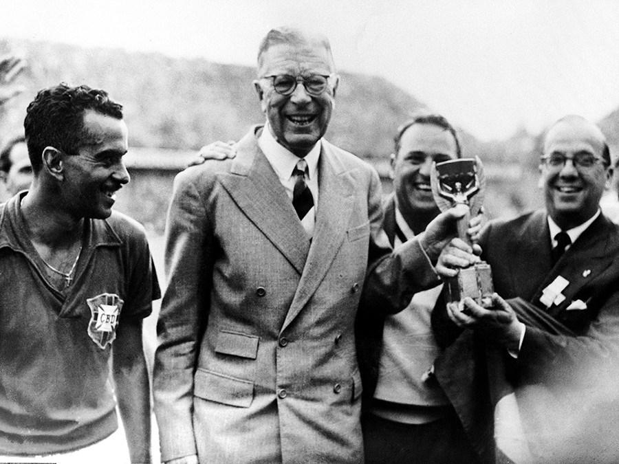 King Gustav VI Adolf & Brazil 1959 World Cup