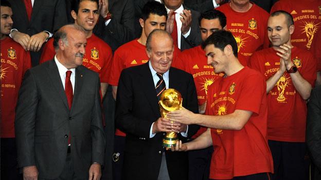 juan carlos iker casillas world cup 2010