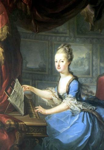 marie antoinette, 1768