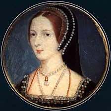 anne boleyn in a french hood