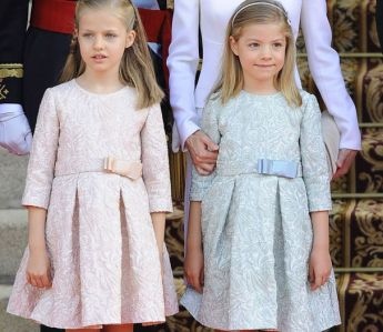 leonór princess of asturias and infanta sofía