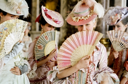 Marie Antoinette Film, with fans