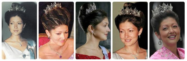 Countess Alexandra in Alexandrine Drop Tiara
