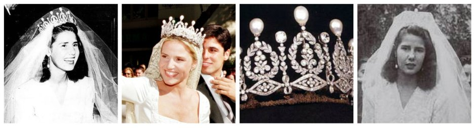 alba pearl and diamond tiara
