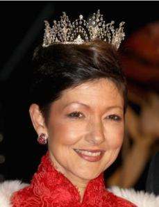 Countess of Frederiksborg Alexandrine Tiara 2012 Gala
