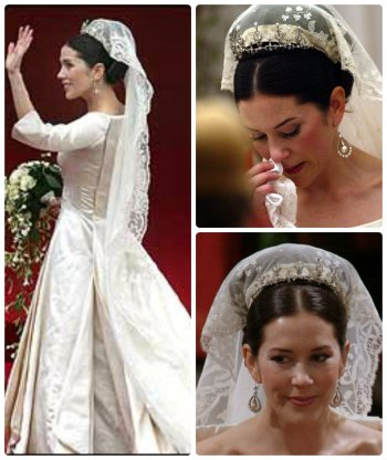 crown princess mary wedding